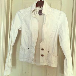 Armani Exchange white Jacket